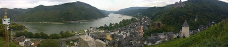The view over Bacharach